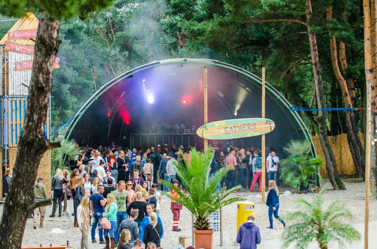 When Summer Ends Festival 2014 - Tents & Structures / Romneyloods