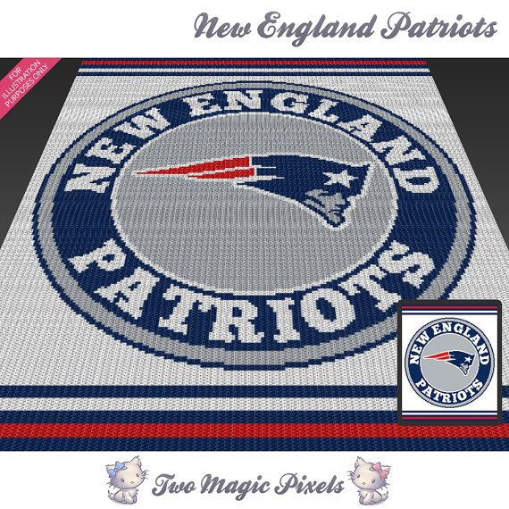 New England Patriots Crochet Afghan Pattern Free : 1000+ images about crochet / knit crafts on Pinterest ...