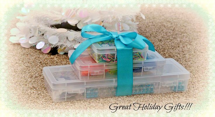 Rainbow Loom Storage Case Organizing Idea & Gift Idea!