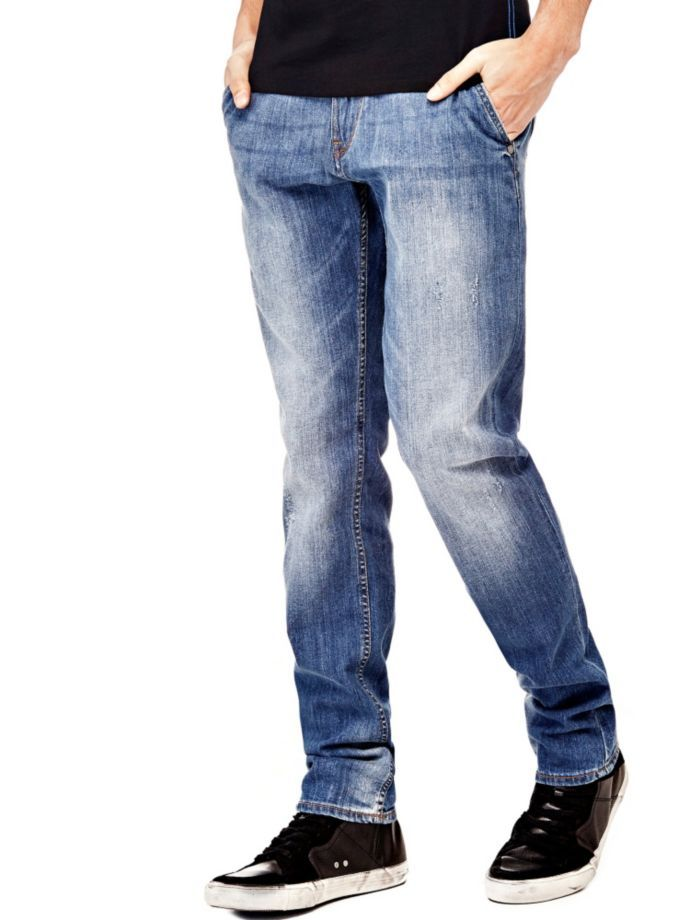 EUR89.90$  Buy now - http://vibgx.justgood.pw/vig/item.php?t=5l0ay0s24308 - TAPERED 5-POCKET JEANS