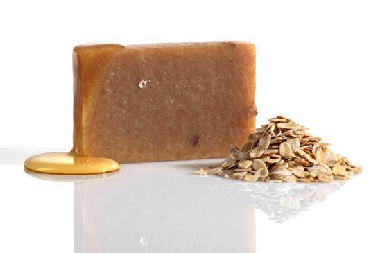 Seife mit Honig und Ziegenmilch