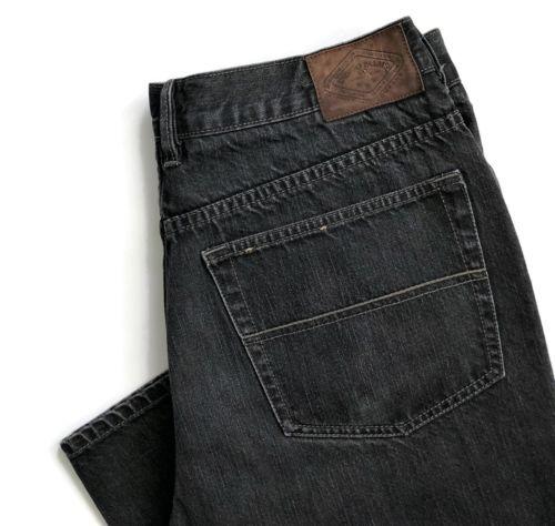 f48fdfbc Indigo-Palms-Tommy-Bahama-Mens-Jeans-38-x-32-Classic-Fit-Straight-Black- Denim