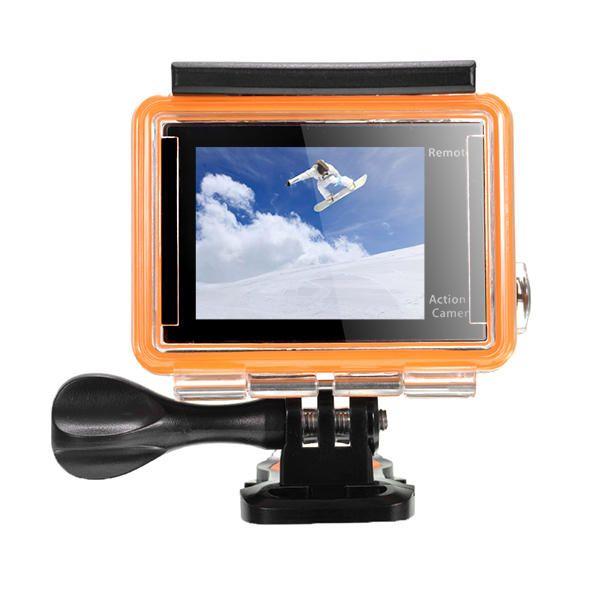 EKEN V8s Action Camera Real 4K Ultra HD 2.4G Remote WiFi Control 170 Degree Wide Angle Sport DV Sale - Banggood.com