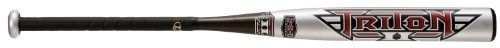 Louisville Slugger 2012 TPX YB12T (-12) 2 14-Inch Triton II Baseball Bat (28-Inch, 16-Ounce) by Louisville Slugger. $61.95. TPX Louisville Slugger YB12T -12 Triton II Little League approved composite youth baseball bat features an exclusive X-1 thin fiber, thin walled design for greater performance at a great price. The -12 weight drop provides the youth player greater bat speed and greater performance. This Triton 2 youth composite baseball bat passed the little leag...