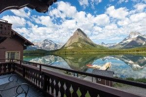 Located in the northeastern part of Glacier National Park on the shores of Swiftcurrent Lake. Book your stay at the Many Glacier Hotel.
