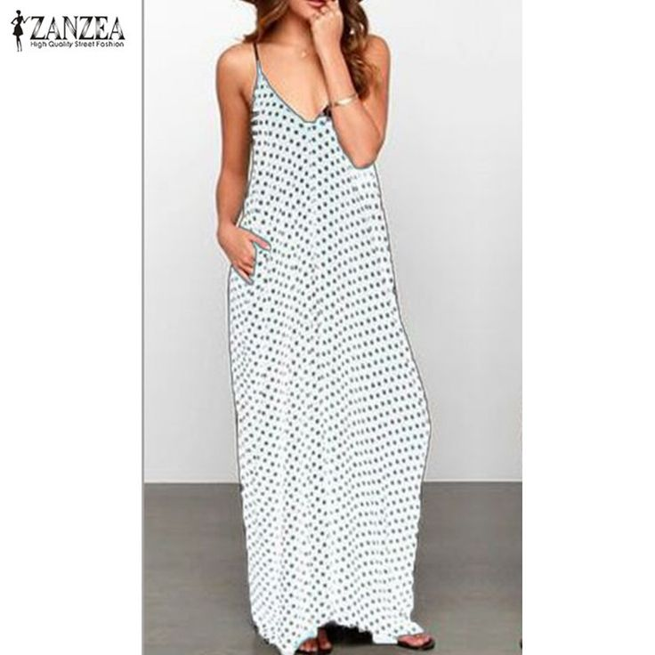 6 Color Sexy Women Strapless Polka Dot Casual Loose Long Maxi Summer Dress Cotton Beach de verano Vestidos Plus Size