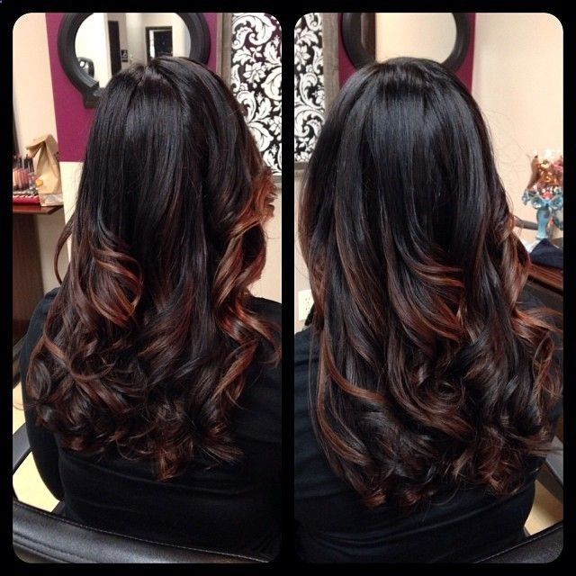 Perfect highlights for olive skin. This color will definitely not wash you out. - gnarlyhair.comgnarlyhair.com