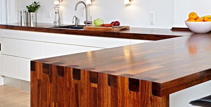 Skræddersyede bordplader - PFP leverandør af bordplader - Massivtræ