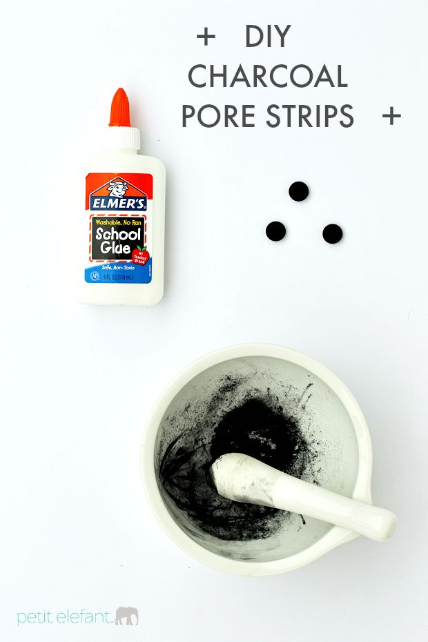 Make your very own DIY charcoal pore strips at home for a fraction of the cost of the store brand version with this easy inexpensive DIY recipe; so fun!