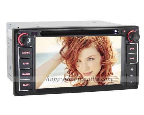 Car DVD Player GPS Navigation for Toyota Corolla (2004-2006)