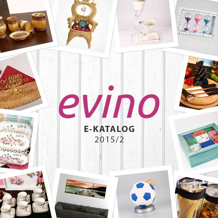 Yeni kataloglarımızı incelediniz mi?  Ev Dekorasyon: bit.ly/evino-dekorasyon Ev Düzenleme: bit.ly/evino-evduzenleme Mutfak ve Banyo: bit.ly/evino-mutfakbanyo