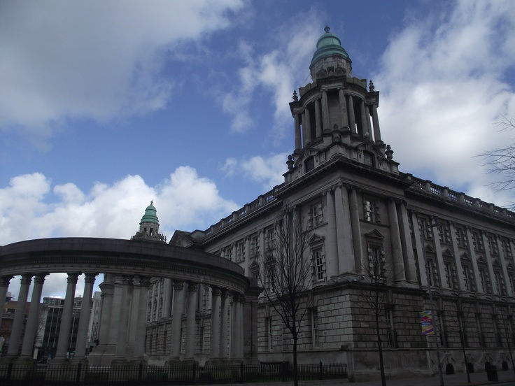 Beautiful city hall, Belfast, Northern Ireland