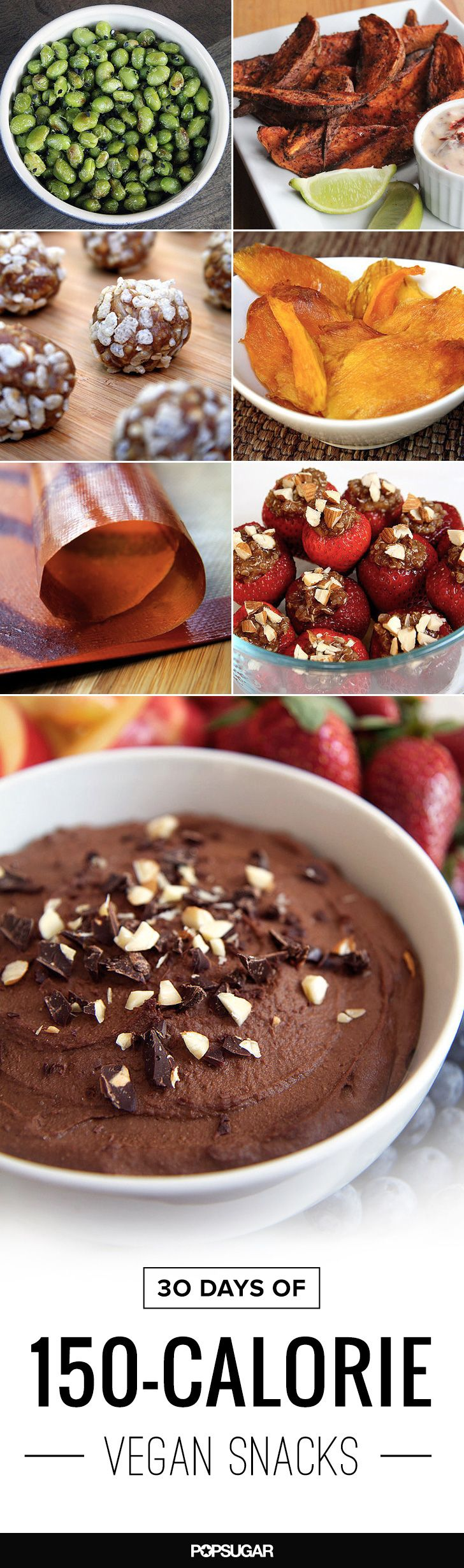30 Days of 150-Calorie Snacks — They're All Completely Vegan!