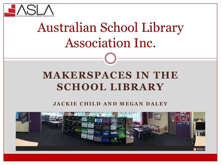 Makerspaces are a growing movement. Find out how to get going in your library and share your ideas with others.