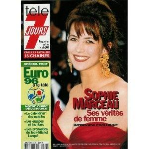 Sophie Marceau : ses vérités de femme, dans Télé 7 jours (n°1880) du 08/06/1996 [couverture et article mis en vente par Presse-Mémoire]
