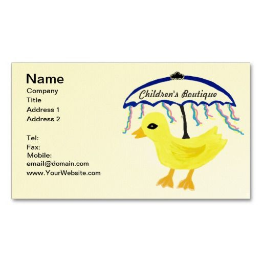 295 best zazzle business cards images on pinterest business cards rubber ducky baby navy umbrella with pink blue yellow ribbons business card pack business card colourmoves