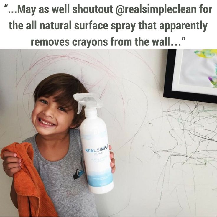 One of our fans discovered yet another use for our Glass & Surface Cleaner! What kind of messes do you use our spray for?    Get all the details on this amazing product, here: https://realsimpleclean.com/product/glass-and-surface-cleaner/