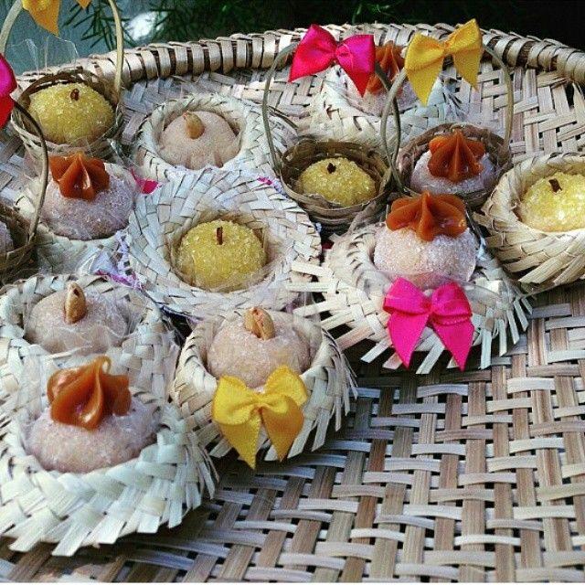 Que idéia linda para decorar a mesa junina! Hoje continuamos com o Especial Festas Juninas! By @lebruleconfeitaria