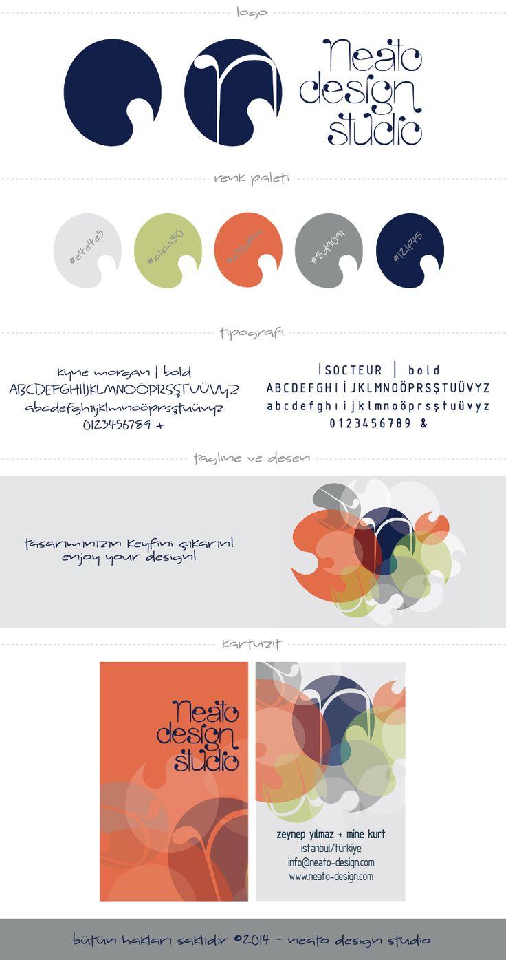 Neato Design Studio marka tasarımı. #branding #markatasarım #logo #kartvizit #renk