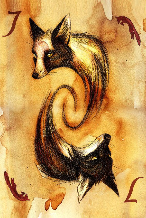 Jack of Foxes by Culpeo-Fox.deviantart.com on @deviantART
