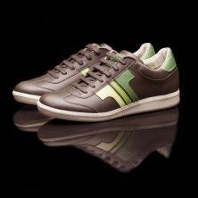 Tisza Cipő, model Compakt - brown / 3 green