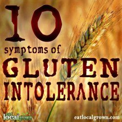10 Symptoms of #Gluten Intolerance + How to test and advice on treatment. By Dr. Amy Myers...  #celiac #wheat #pms #migraine