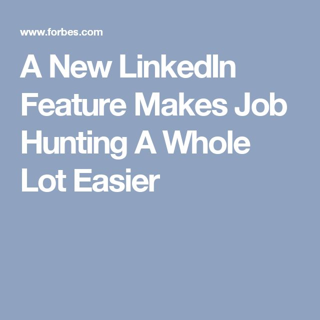 95 best LinkedIn for Job Search images on Pinterest Job search - linkedin resume search