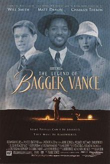 """The Legend of Bagger Vance -- a great movie with golf as the theme -- but it isn't about golf! It has a message for anyone who feels they have """"lost their swing"""" in life! We loved it!"""