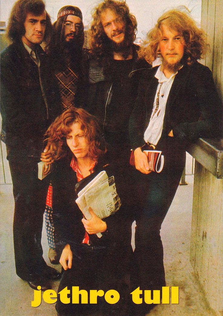 Jethro Tull - different sounds and monster concept albums. Lovely melodies and…