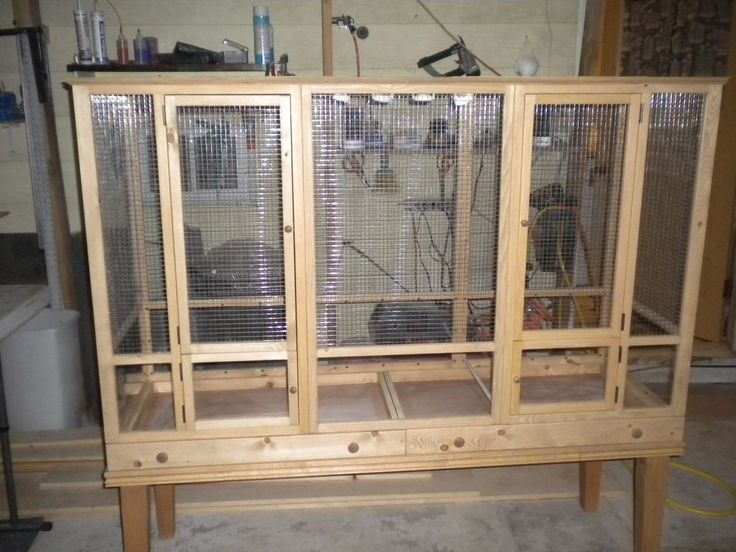 Flight Cage - 40 tall x 60 wide x 22 deep Custom Bird Cage