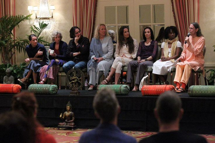 The presenters talk about their kind of yoga and what it means to them.