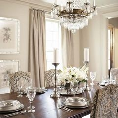 Traditional Dining Room By Linda McDougald Design Postcard From