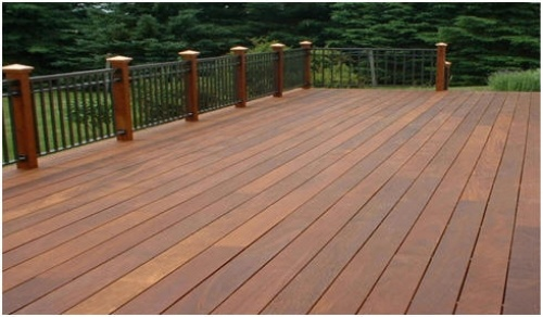 Ipe Wood Decking, Lumber, Iron Woods, Exterior Wood Planks,   DiggersList.com.  This color is so rich looking!  I think it would flow nicely with our red brick, too.