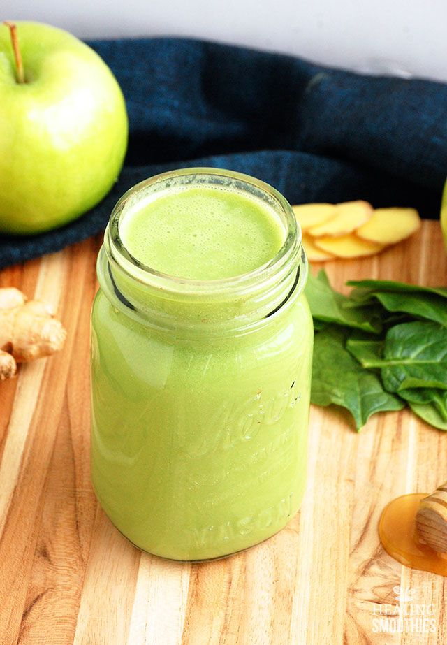 Fat Loss Code: Green Apple Ginger Weight Loss Smoothie