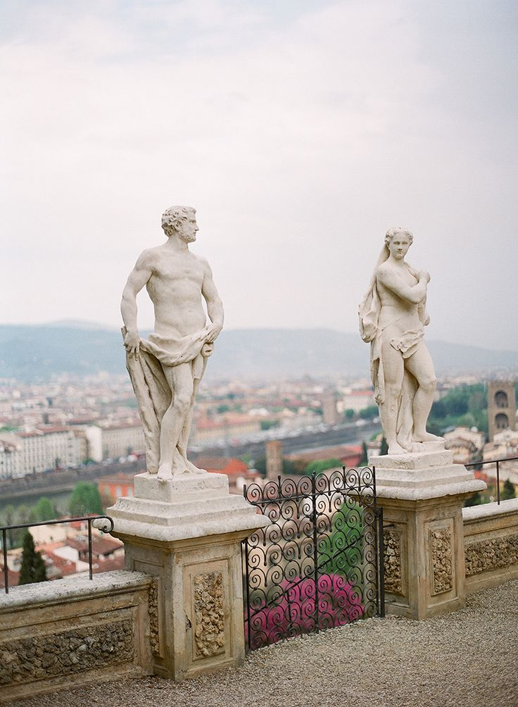 romantic-rooftop-elopement-inspiration-in-florence-13 | Ruffled