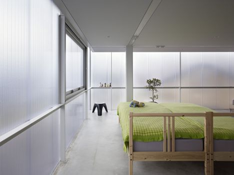 House in Tousuienn by Suppose Design Office.   I cannot even begin to imagine what it would be like waking up here every day.