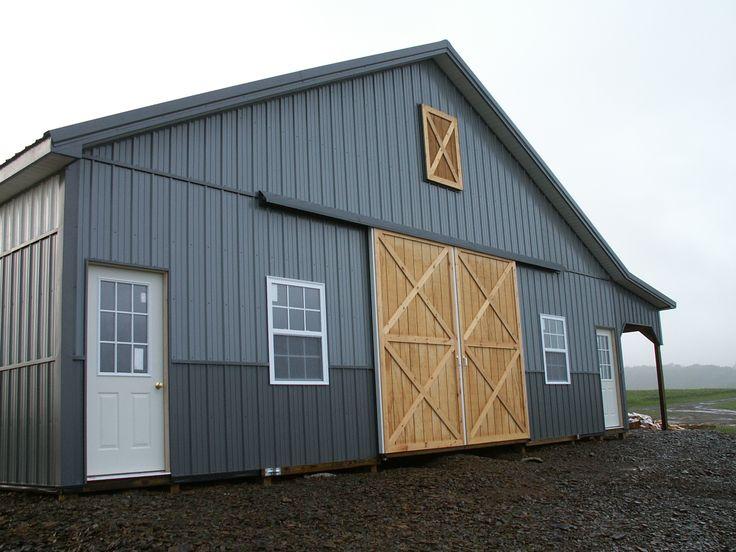 Pole Barn Sliding Door Image Collections Doors Design Modern