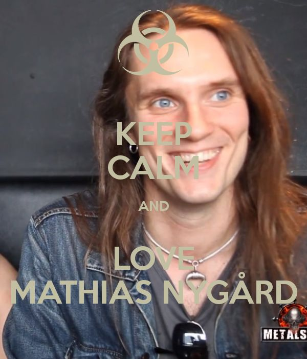 KEEP CALM AND LOVE MATHIAS NYGÅRD - KEEP CALM AND CARRY ON Image ...