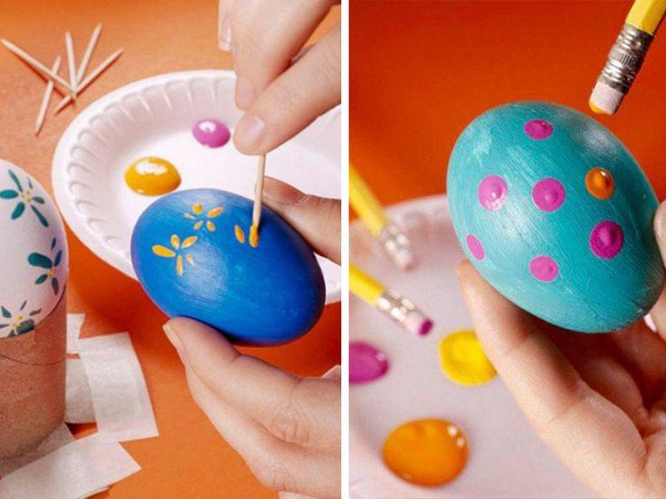 Διακοσμήσετε τα Πασχαλινά Αυγά σας με αυτούς τους Έξυπνους Τρόπους!