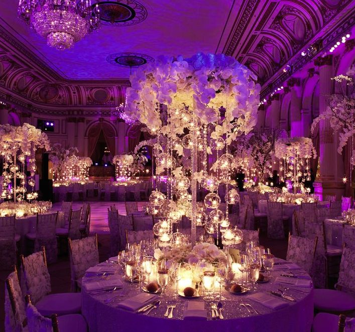 25 best ideas about ballroom wedding reception on for Home wedding reception decorations