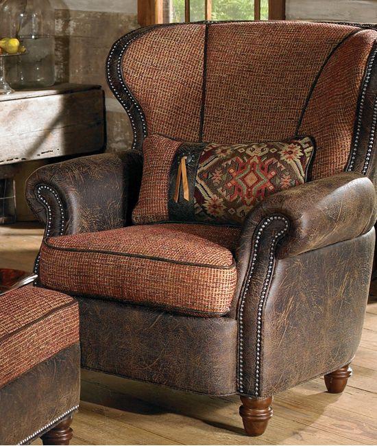 Barrico Hearth Western Chair
