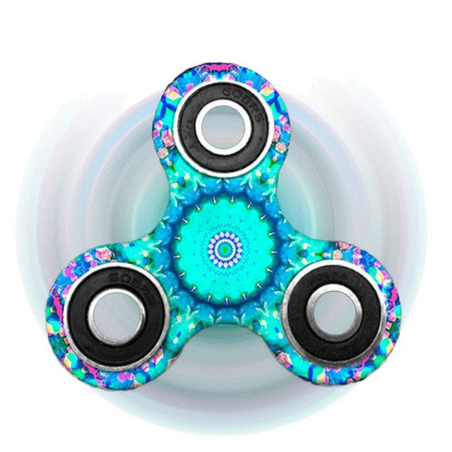 MOLAVE Fidget Spinner Triangle Single Finger Decompression Gyro Hand Spinner Fingertip Gyro May12 Extraordinary