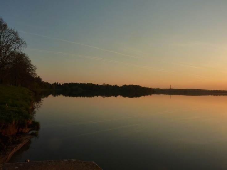 reflections & sunset...