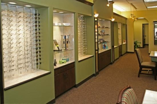 Vision Source Optometric Floor Plans - Barbara Wright Design