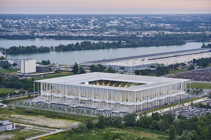 Galería: Dentro del nuevo estadio de Burdeos diseñado por Herzog & de Meuron
