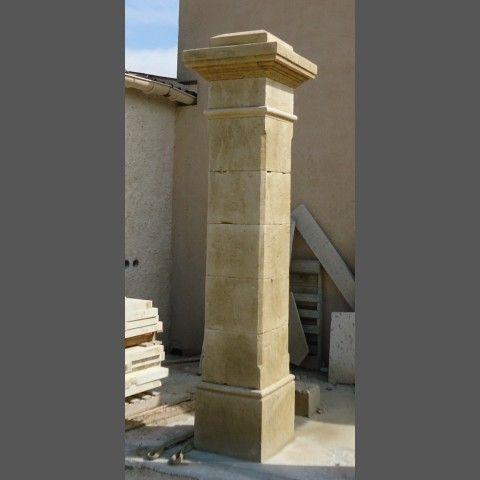 Paire de pilier : modéle Maillane