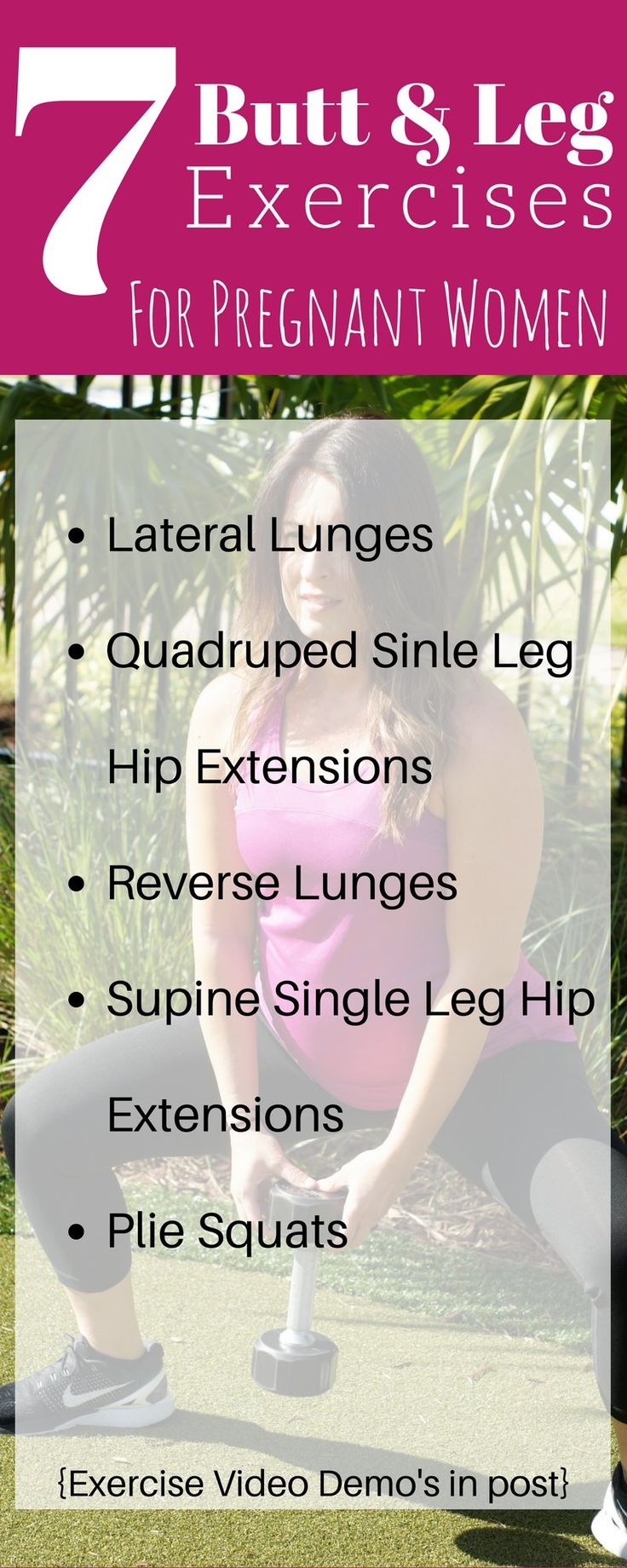7 butt and leg exercises for pregnant women that are safe and help tighten and tone.