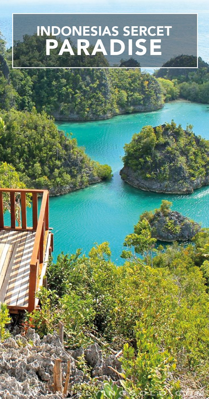 Raja Ampat, the 'worlds last paradise' situated in Indonesia is a divers and beach lovers dream. Take a photo journey through this remote beauty.