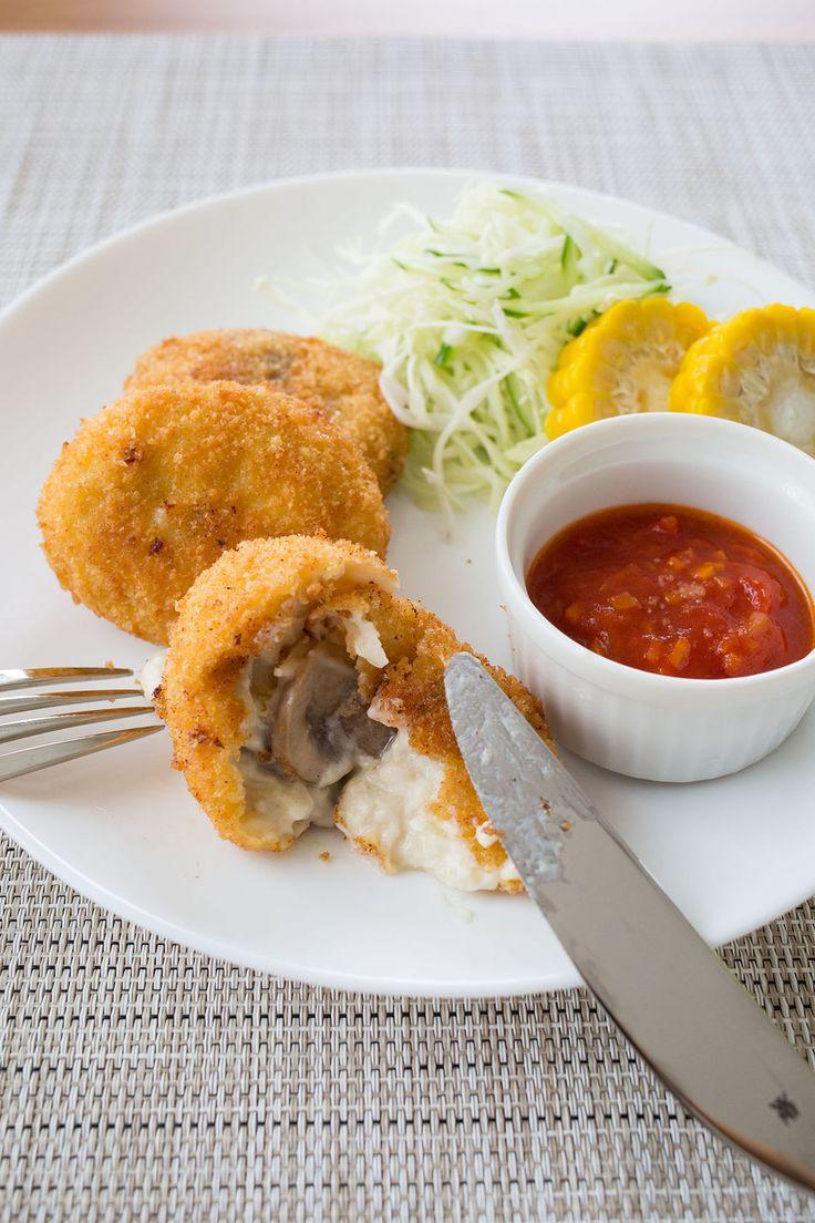 洋食屋さんの味!失敗しない「カニクリームコロッケ」の作り方 | レシピサイト「Nadia | ナディア」プロの料理を無料で検索
