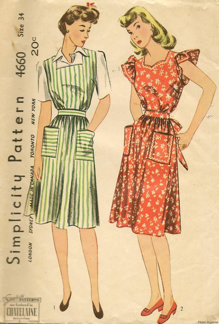 Aprons of the past